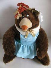 RARE Vintage Atlanta Novelty Gerber Mrs Groundhog Stuffed Animal with Tag