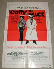 """THE MACK / COFFY"" 73, 1SH Original Poster, EXTRA RARE PAM GRIER"