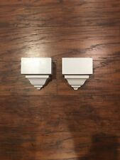 """Crown Molding Corners/Mid Transition Blocks made For 2 5/8"""" 2 pack!"""
