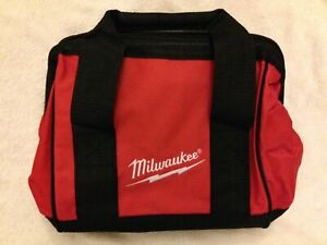 "New Milwaukee M12 11"" x 10"" x 8"" Heavy Duty Contractors Tool Bag"