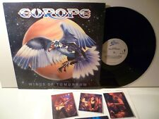 LP, Europe, Wings of Tomorrow, 1984, textinnersleeve, staccato, ex
