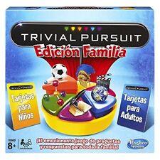 Juego trivial Pursuit edicion familia Hasbro 14993