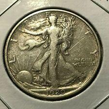 1920-S  SILVER WALKING LIBERTY HALF DOLLAR HIGH GRADE  COIN