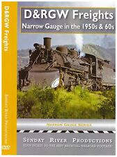 D&RGW FREIGHTS: NARROW GAUGE IN THE 1950's & 60's SUNDAY RIVER PRODUCTIONS NEW