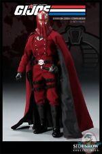 G.I Joe Crimson Cobra Commander 12 Inch Figure by Sideshow JC