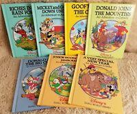 Disney's Small World Library  Lot - Canada India Russia Brazil Australia