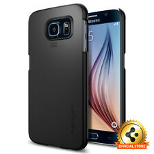 [Spigen Outlet] Samsung Galaxy S6 Case [Thin Fit] Smooth Black Light Weight Case