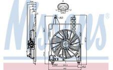 NISSENS Ventilador, refrigeración del motor RENAULT KANGOO LADA PRIORA 85706