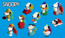 The Peanuts Snoopy 2018 McDonalds Happy Meal Complete Set (10 Toys) *NIP***