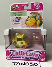 New Shopkins Cutie Cars Apple Pie Ride QT2 20 Die Cast Includes Mini Pie Slice