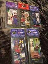Lot NASCAR Jeff Gordon #24 Commemorative Ticket Daytona 500 Winston Cup Lv Pepsi