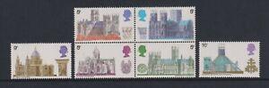 Grande-Bretagne / GB - 1969 Architecture Cathédrales Bloc Ensemble - MNH - Sg