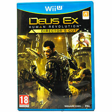 Deus Ex: Human Revolution - Director's Cut (Nintendo Wii U) Mint FPS Rare Game