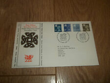 FIRST DAY COVER ROYAL MAIL NEW DEFINITIVE VALUES WALES ~ 8 APR 1981