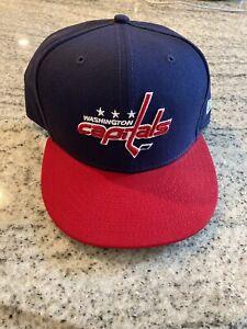 Washington Capitals New Era fitted hat size 7 5/8