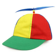 Cotton Child's Multi-Color Propeller Helicopter Unstructured Baseball Cap