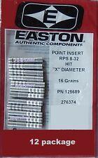 AXIS X DIAMETER HIT 8-32 RPS EASTON INSERTS