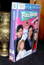 Full House Complete Third Season DVD 4 Discs & case ,  24 shows