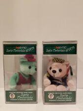Nsync Limited Edition Rare Bear #2 & 3 Justin Timberlake Vintage Collectible
