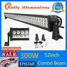 "52""inch 300W LED Work Light Bar Spot Flood Combo Driving Lamp Boat Ford SUV IP67"