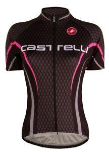 Castelli Scale Women's Jersey Black/Pink Size S - XXL : Early Black Friday Sale