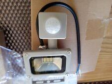 12 LED Floodlight PIR Sensor Motion 10w Security Flood Light Warm Cool