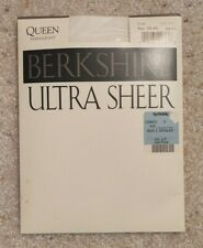 Berkshire Ultra Sheer Sandalfoot Pantyhose Ivory Queen 3X - 4X - NWT