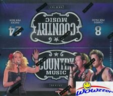 2015 Panini Country Music MASSIVE Factory Sealed 24 Pack Retail Box-192 Cards!
