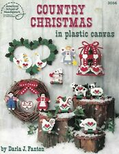 Plastic Canvas - Country Christmas - Pattern Book - New