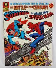 DC MARVEL SUPERMAN VS. AMAZING SPIDERMAN COMIC BOOK BATTLE OF THE CENTURY EX-NM