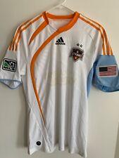 ** Vintage 2010 Adidas Houston Dynamo jersey authentic version size M **