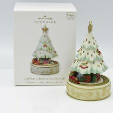 Hallmark 2010 100 Years Of Helping You Say It All Ornament New w/ Lights (Gl)