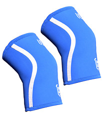Knee sleeves power weight lifting Squats Patella support brace Gym 5mm PAIR