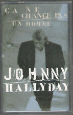 "Cassette audio ""Johnny HALLYDAY"" Ca ne change pas un homme (12)"
