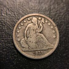 1839 O Liberty Seated Dime VF Very Fine Silver Type Coin 10c Better Date
