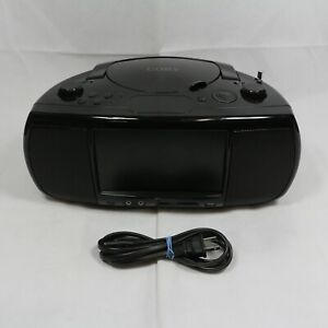 """Coby TFDVD777 Portable DVD Player with am/fm and usb port 7"""" Widescreen"""