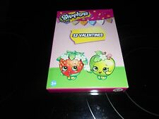 SHOPKINS 32 VALENTINE'S DAY CARDS~8 SUPER SWEET DESIGNS!!!! NEW/FREE SHIPPING!!!