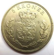 1965 Denmark 5 Kroner Coin