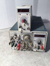 Tektronix Tm503 Chassis Power Supply Fg 501 Generator Dm 501 Ps 503 A Dc 504