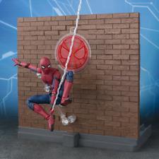 S.h Figuarts Spider-Man Homecoming Tamashii Act Wall Bandai
