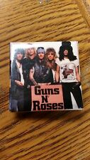 "Guns N' Roses Small Square Button Pin 1.5""X 1.5"" Great Condition"
