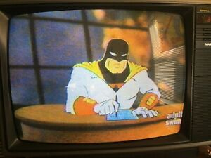 Adult Swim VHS SOLD AS BLANK Aqua Teen Sealab Home Movies Space Ghost Commercial