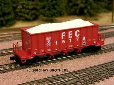 Hay Brothers CRUSHED LIMESTONE LOAD - Fits Micro-Trains 3-Bay Ortner Hoppers**