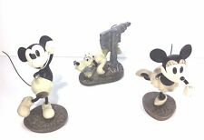 Walt Disney collector's club figures Micky, Minnie, Pluto The Delivery Boy -READ