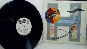 """Heatwave – Mind Blowing Decisions-Vinyl, 12"""", 45 RPM- 12HW1"""