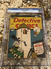 DETECTIVE COMICS #68 CGC 3.5 OW-WHITE PAGES 1ST TWO-FACE COVER HOT BATMAN MOVIE