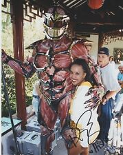 KARAN ASHLEY MIGHTY MORPHING POWER RANGERS SIGNED 8X10 COLOR PHOTO AUTOGRAPH