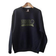 Nirvana Nevermind Pullover Sweatshirt NEW Unisex Fit Size S-XL