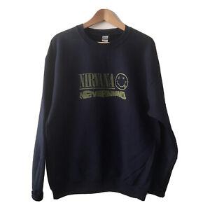 Nirvana Nevermind Pullover Sweatshirt NEW Mens Unisex Fit Size S-XL
