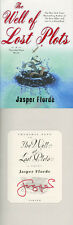 Jasper Fforde SIGNED AUTOGRAPHED The Well of Lost Plots HC 1st Ed Thursday Next